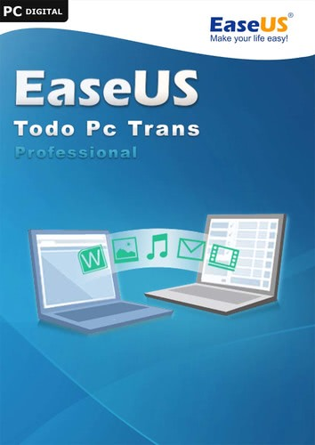 Verpackung von EaseUS Todo PCTrans Pro 10.0 2 PCs / Free Lifetime Upgrade [PC-Software]