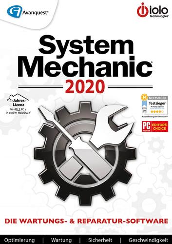 Verpackung von System Mechanic 2020 [PC-Software]
