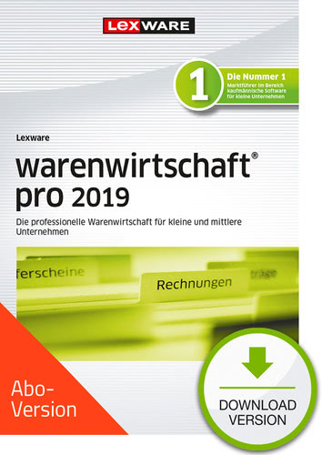 warenwirtschaft pro 2019 Download – Abo Version (Download), PC