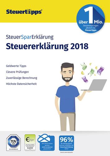 Verpackung von SteuerSparErklärung 2019 (für Steuerjahr 2018) [PC-Software]