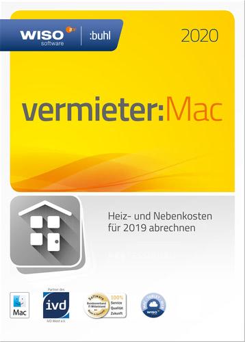 Verpackung von WISO vermieter:Mac 2020 [Mac-Software]