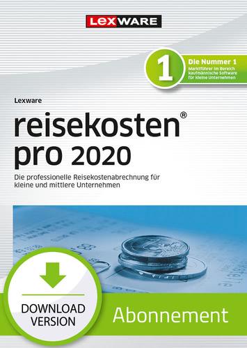 Verpackung von Lexware reisekosten 2020 pro - Abo-Version [PC-Software]