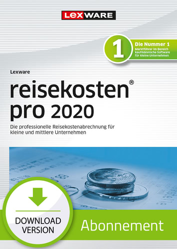 Lexware reisekosten 2020 pro – Abo-Version (Download), PC