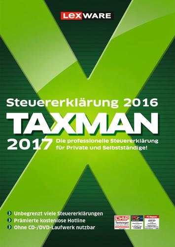 TAXMAN 2017 (für Steuerjahr 2016)