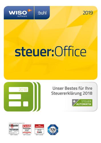 Verpackung von WISO steuer:Office 2019 [PC-Software]