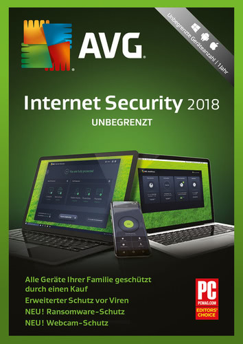 AVG Internet Security (2018) – Unbegrenzt