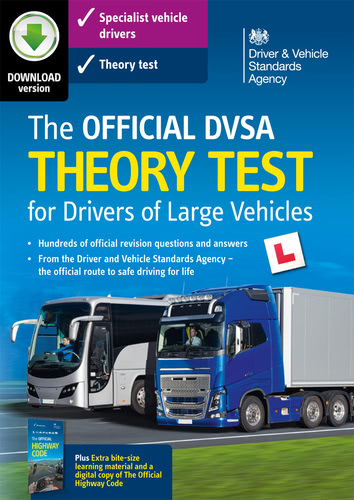Packaging by The Official DVSA Theory Test 2016 for Large Vehicles [PC-software]