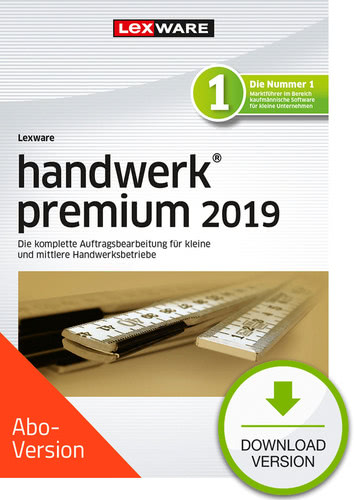 handwerk premium 2019 Download – Abo Version (Download), PC