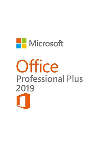 Verpackung von Microsoft Office 2019 Professional Plus [PC-Software]