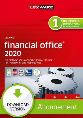 Verpackung von Lexware financial office 2020 - Abo-Version [PC-Software]