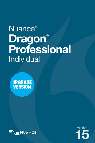 Packaging by Nuance Dragon Professional Individual 15 Upgrade from Professional 12, 13 or DPI 14 [PC-software]