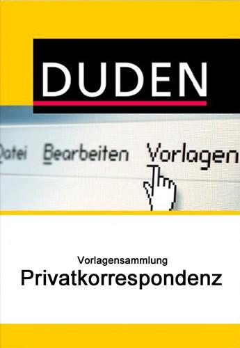 Duden Vorlagensammlung - Privatkorrespondenz, ESD (Download) (MAC)
