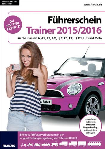 Verpackung von Führerschein Trainer 2015-2016 [PC-Software]