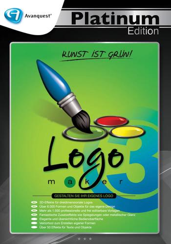 Verpackung von Logomaker 3 - Avanquest Platinum Edition [PC-Software]