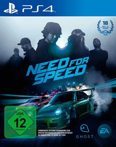 Verpackung von Need for Speed [PS4]