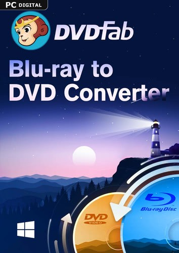 DVDFab Blu-ray to DVD Converter (24 Monate) (Download), PC
