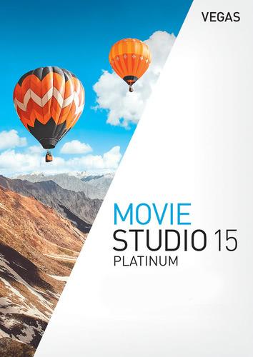 Packaging by Vegas Movie Studio 15 Platinum [PC-software]