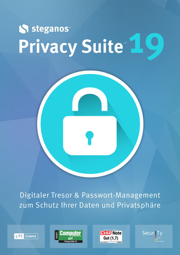 Verpackung von Steganos Privacy Suite 19 [PC-Software]