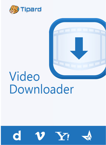 Verpackung von Tipard Video Downloader - lebenslange Lizenz [PC-Software]