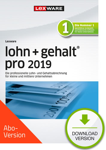 lohn+gehalt pro 2019 Download – Abo Version (Download), PC