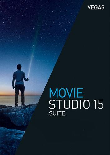 Packaging by Vegas Movie Studio 15 Suite [PC-software]