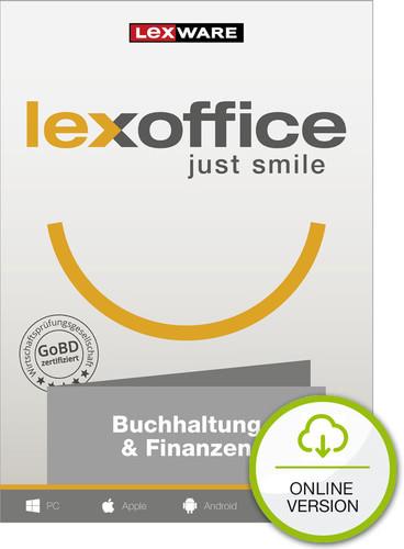 Verpackung von Lexoffice Buchhaltung + Finanzen - 1 Jahreslizenz - die Online-Buchhaltung (Cloud-Lösung) [PC-Software]