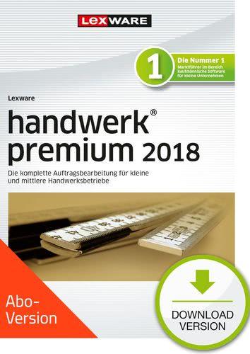 Verpackung von Lexware handwerk premium 2018 Download - Abo Version [PC-Software]