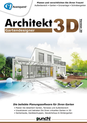 Architekt 3D 20 Gartendesigner (Download), PC
