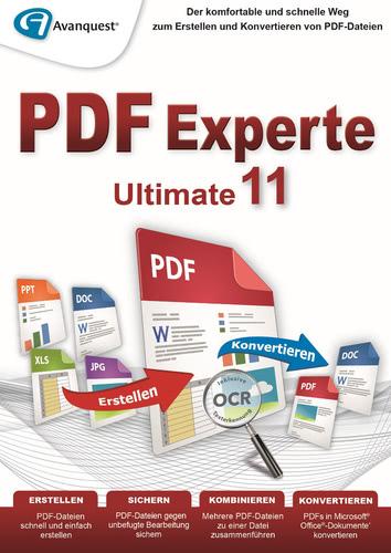 Verpackung von PDF Experte 11 Ultimate [PC-Software]