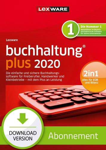 Verpackung von Lexware buchhaltung 2020 Plus - Abo Version [PC-Software]