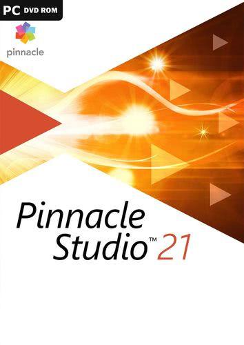 Verpackung von Corel PinnacleStudio21 [PC-Software]