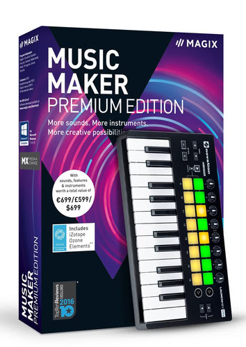 Verpackung von Magix Music Maker Performer Edition (2018) [PC-Software]