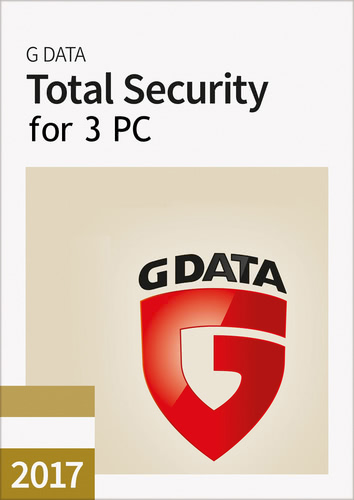 Packaging by G Data Total Security 2017 - 3 User - 12 Months [PC-software]
