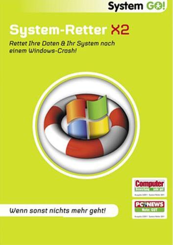 Verpackung von System GO! System Retter X2 [PC-Software]