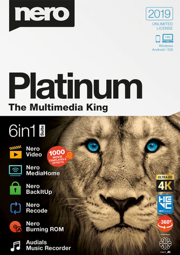 Nero 2019 Platinum (Download), PC