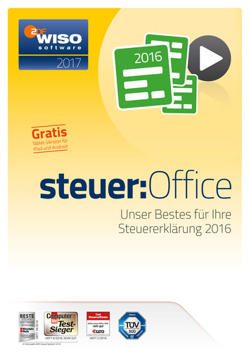 WISO Steuer-Office 2017 (Download), PC