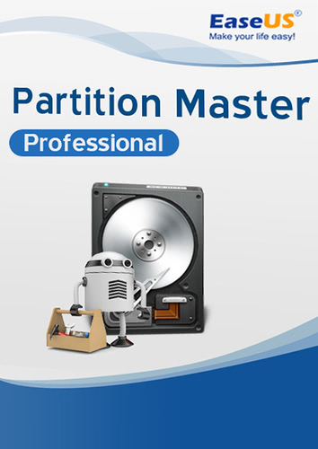 Verpackung von EaseUS Partition Master PRO 13.0 [PC-Software]