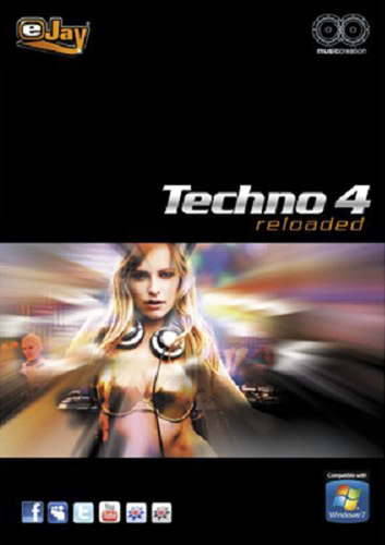 Verpackung von eJay Techno 4 reloaded [PC-Software]