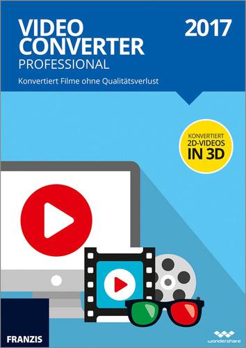 Verpackung von Franzis Video Converter Professional 2017 [PC-Software]