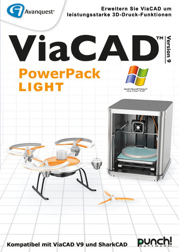 Avanquest ViaCAD PowerPack LIGHT (Windows)