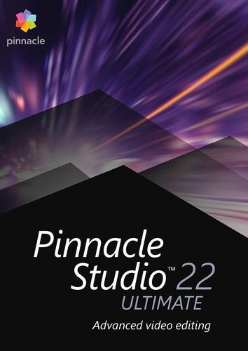 Verpackung von Pinnacle Studio 22 Ultimate [PC-Software]