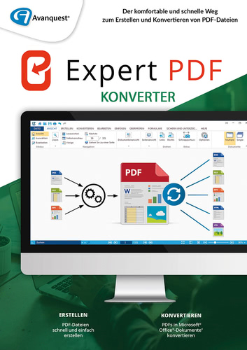 Verpackung von Expert PDF 14 Konverter [PC-Software]