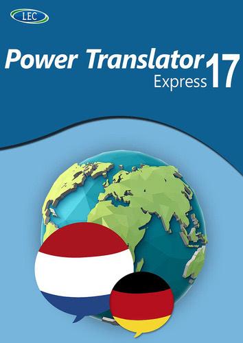 Verpackung von Power Translator 17 Express Deutsch-Niederländisch [PC-Software]