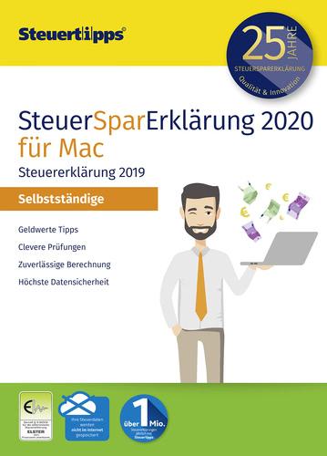 Verpackung von SteuerSparErklärung 2020 Selbstständige für Steuerjahr 2019 (MAC) [Mac-Software]