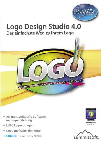 Verpackung von Logo Design Studio 4.0 [PC-Software]