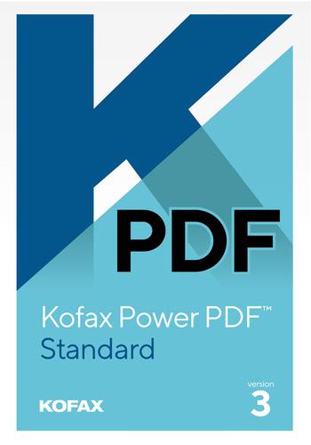 Verpackung von Kofax Power PDF 3 Standard [PC-Software]