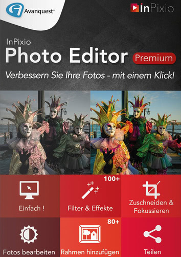 InPixio Photo Editor Premium (Download), PC