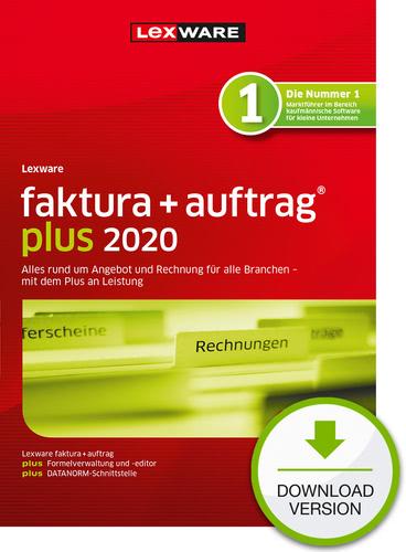 Verpackung von Lexware faktura+auftrag 2020 Plus Jahresversion (365 Tage) [PC-Software]