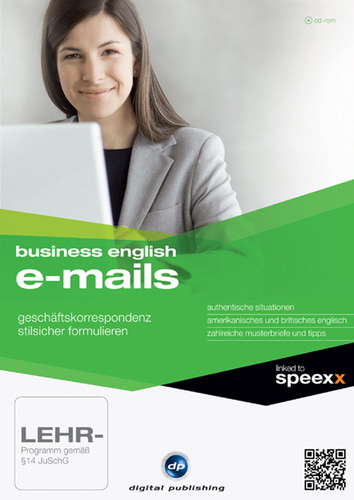 Verpackung von Business English E-Mails [PC-Software]