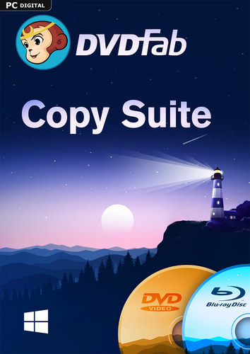 DVDFab Copy Suite (DVD Copy & Blu-ray Copy) (24 Monate)